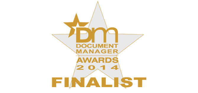 Microform Imaging Document Manager 2014 Finalist