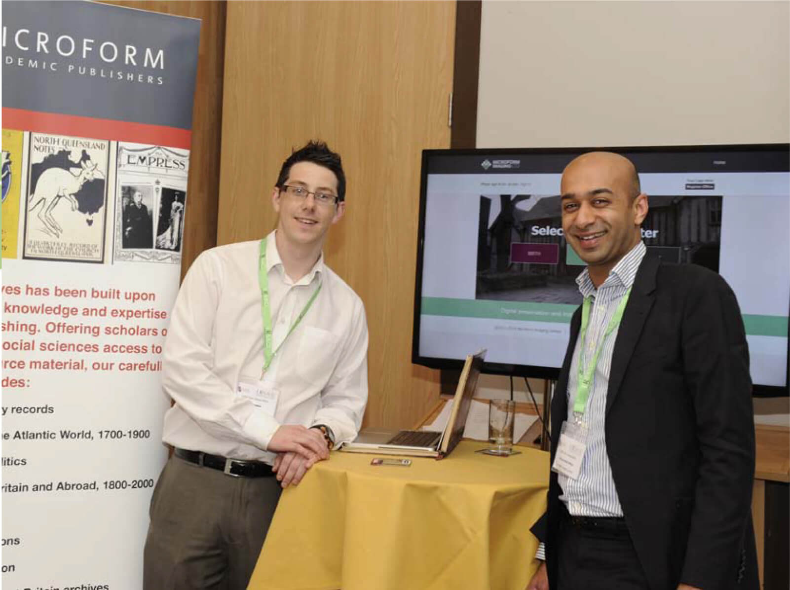 Microform Imaging Ltd at the LRSA Conference