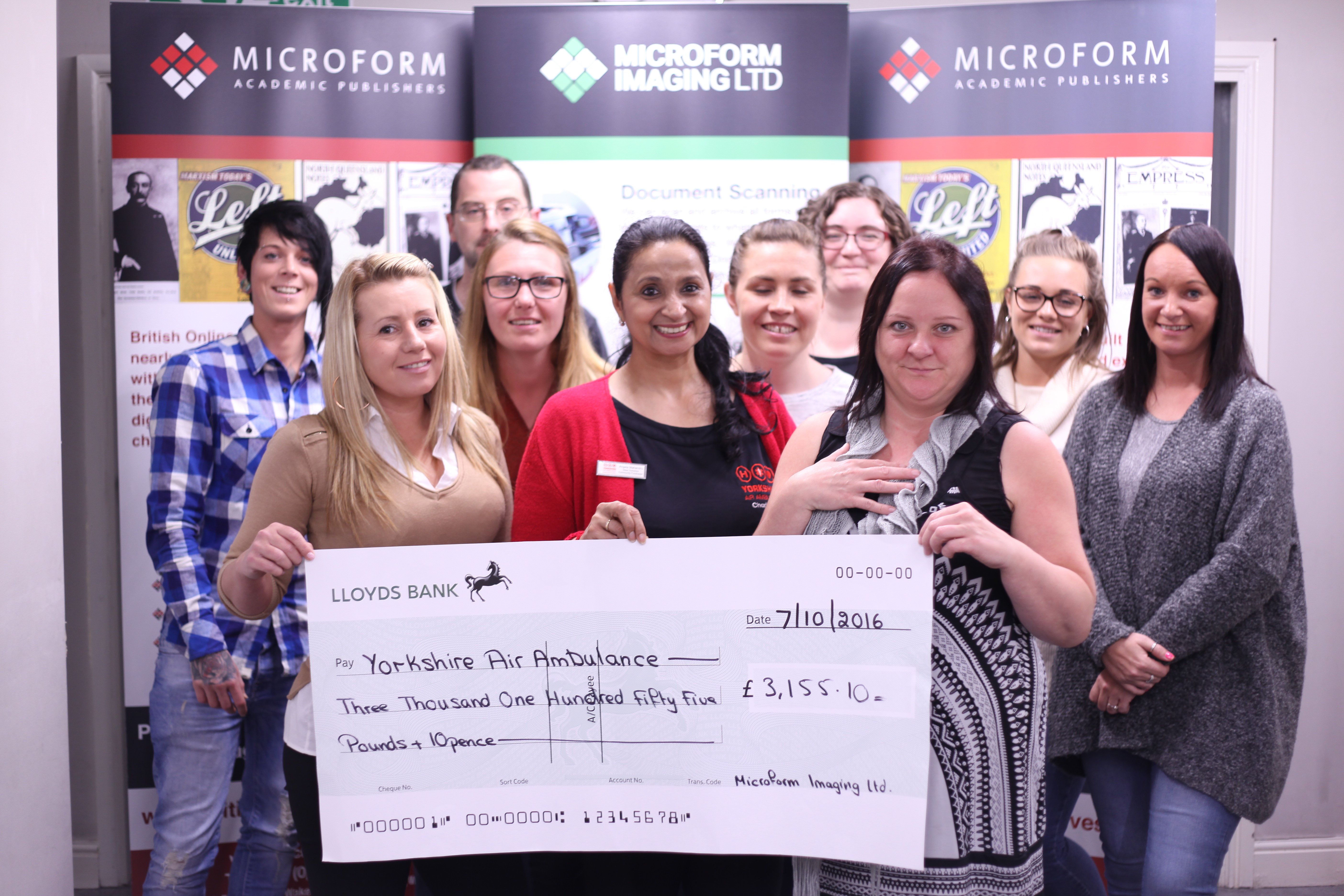 Microform's Charity Fundraisers