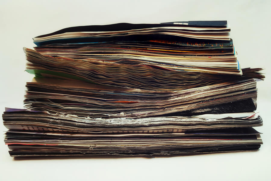 Soiled Magazines before scanning can take place.